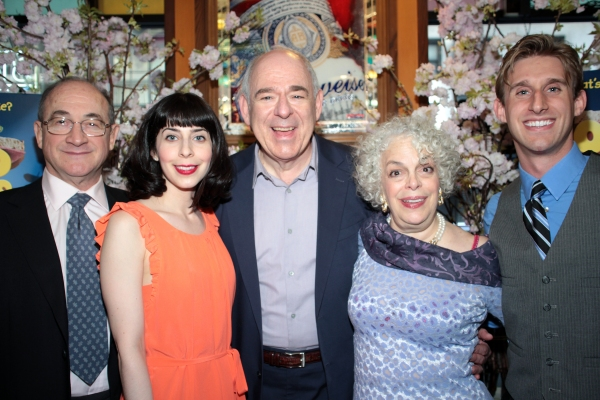 Todd Susman, Audrey Lynn Weston, Lenny Wolpe, Marilyn Sokol, Bill Army at OLD JEWS TELLING JOKES Opens Off-Broadway