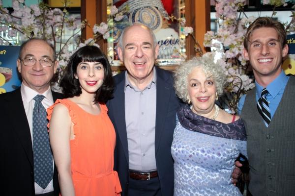 Todd Susman, Audrey Lynn Weston, Lenny Wolpe, Marilyn Sokol, Bill Army at OLD JEWS TELLING JOKES Opens Off-Broadway