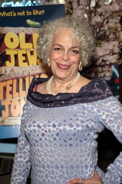 Marilyn Sokol at OLD JEWS TELLING JOKES Opens Off-Broadway