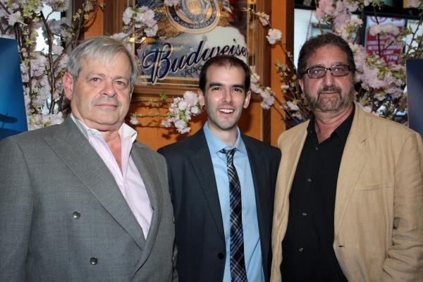 Daniel Okrent, Marc Bruni, Peter Gethers at OLD JEWS TELLING JOKES Opens Off-Broadway