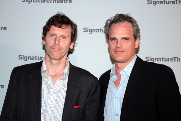 Will Eno, Michael Park at TITLE AND DEED Opens at Signature Theatre