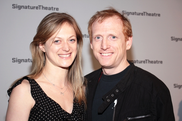 Marin Ireland, Scott Shepherd at TITLE AND DEED Opens at Signature Theatre