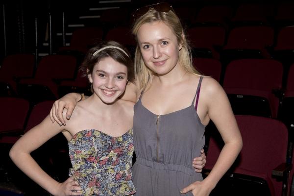 Holly Block (Swing) and Julia Mattison (GODSPELL Dance Captain)