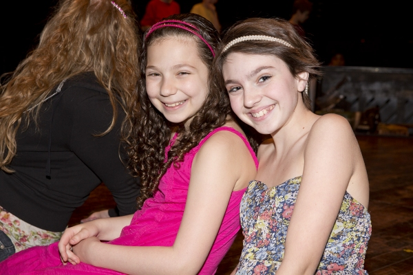 Rebecca Goldfarb (Lindsay) and Holly Block (Swing)