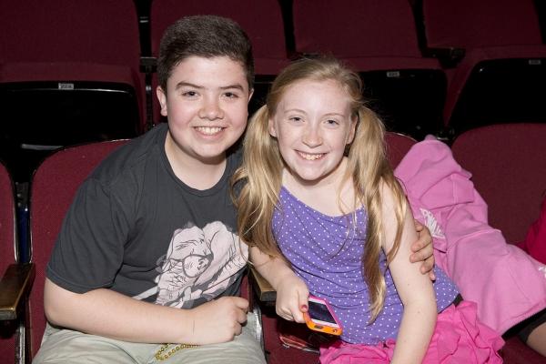Danny Ward (John the Baptist) and Zoe Considine (Morgan) Photo
