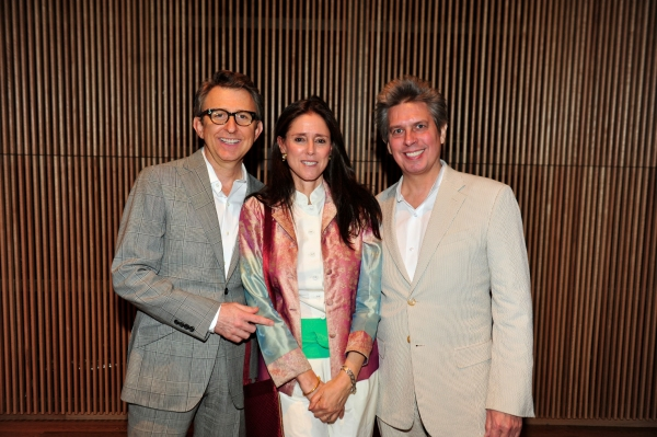 Thomas Schumacher, Julie Taymor and Elliot Goldenthal