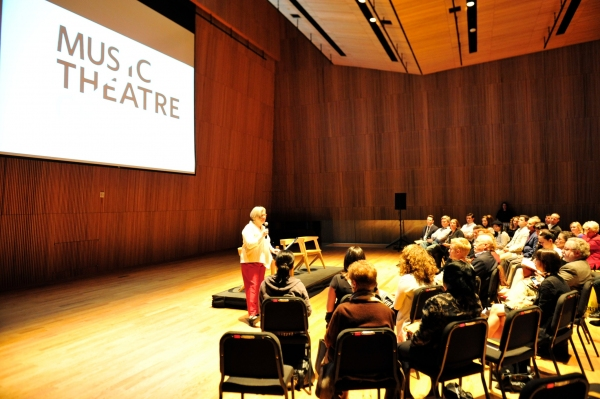 Photo Flash: Music-Theatre Group Chats With Julie Taymor and Elliot Goldenthal