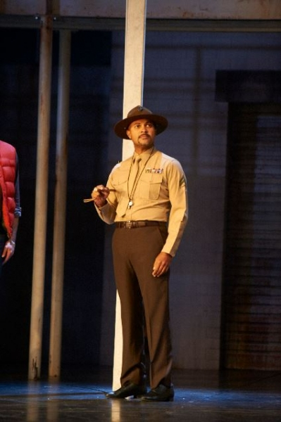 Photo Flash: AN OFFICER AND A GENTLEMAN in Performance!