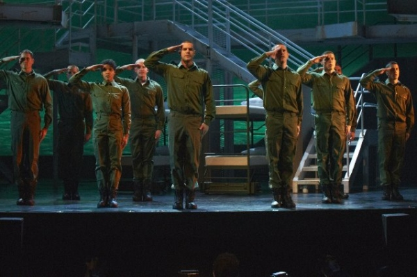 Photos: AN OFFICER AND A GENTLEMAN in Performance!