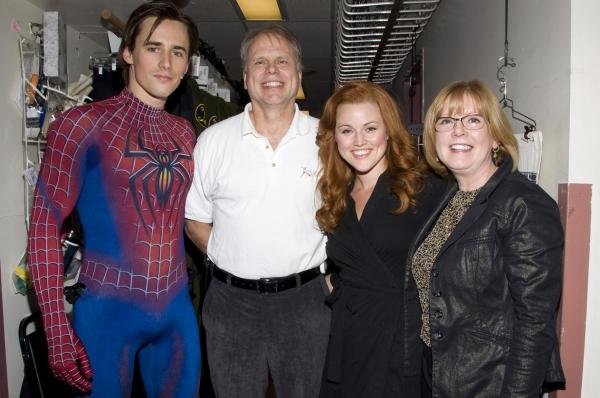 Photo Flash: SPIDER-MAN Celebrates Everyday Hero Kenneth Culver!