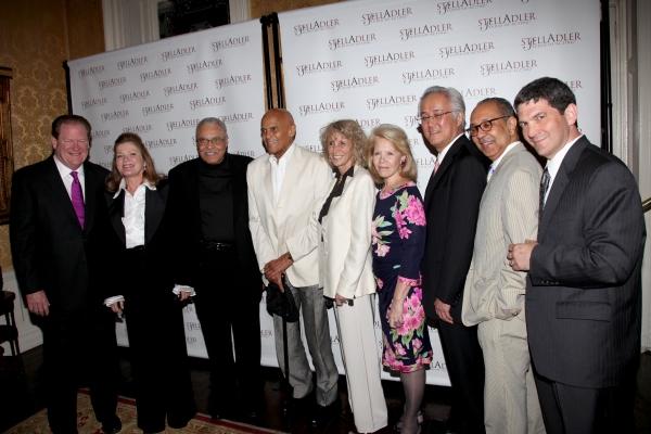 Ed Schultz, Kate Mulgrew, James Earl Jones, Harry Belafonte, Pamela Frank, Daryl Roth Photo