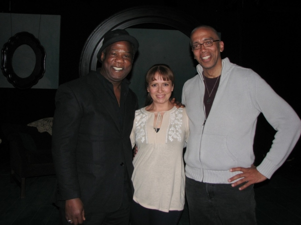 Isiah Whitlock, Jr., Maxine Linehan and Timothy Douglas