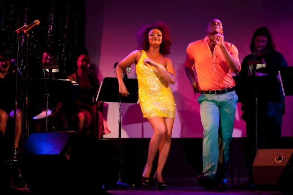 Photo Flash: New Photos of Michael James Scott & Asmeret Ghebremichael in FINGERLICKIN' FIERCE