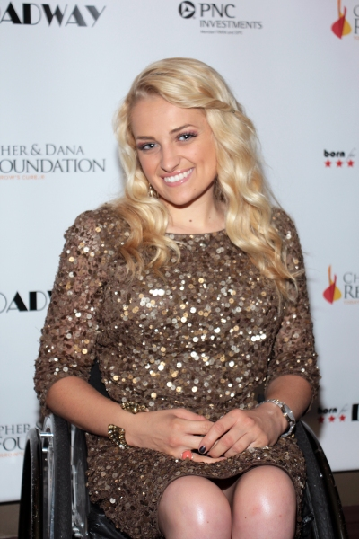 Ali Stroker at Christian Noll & More at the Christopher & Dana Reeve Foundation Born For Broadway Benefit!