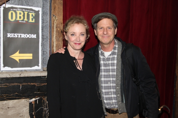 J. Smith-Cameron and Martin Moran at 2012 Obie Awards - Winners & More!