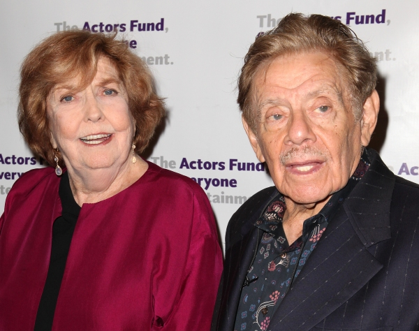 Anne Meara & Jerry Stiller at The Stars Come Out to Honor Jerry Stiller, Harry Belafonte & More at The Actor's Fund Gala
