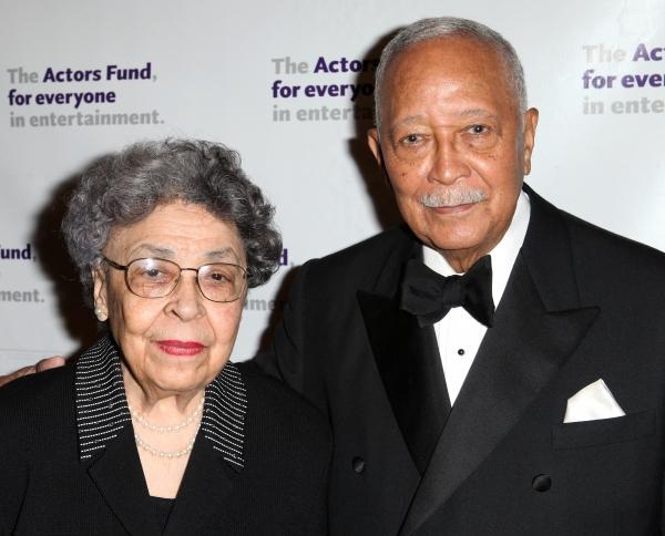 David Dinkins with wife Joyce Dinkins