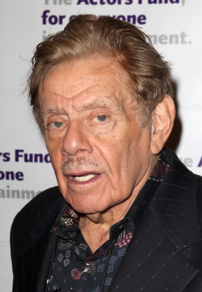 Jerry Stiller at The Stars Come Out to Honor Jerry Stiller, Harry Belafonte & More at The Actor's Fund Gala