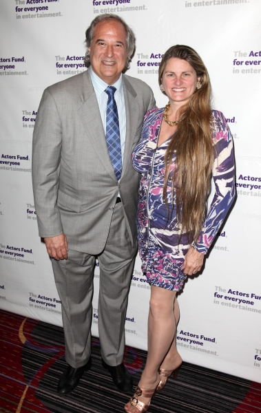 Stewart Lane & Bonnie Comley  at The Stars Come Out to Honor Jerry Stiller, Harry Belafonte & More at The Actor's Fund Gala