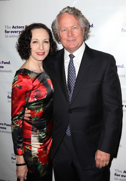 Bebe Neuwirth with her husband, Chris Calkins