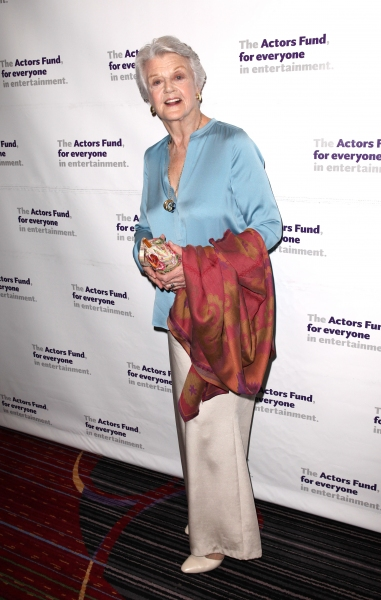 Angela Lansbury at The Stars Come Out to Honor Jerry Stiller, Harry Belafonte & More at The Actor's Fund Gala