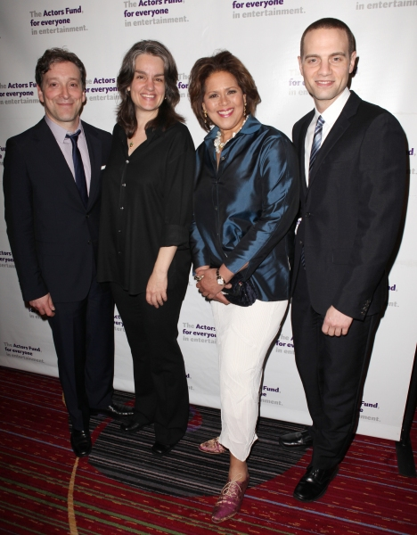 Jeremy Shamos, Pam MacKinnon, Anna Deavere Smith & Jordan Roth  Photo