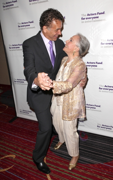 Brian Stokes Mitchell & Marge Champion