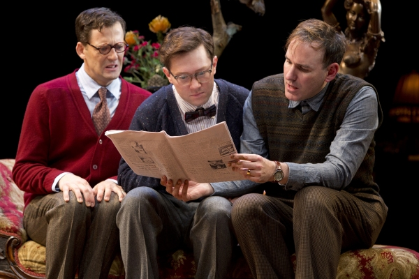 Photo Flash: Public Theater's FEBRUARY HOUSE- Production Shots!