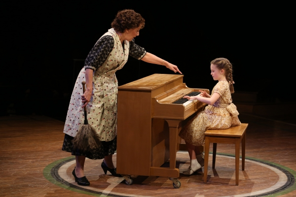 Donna Migliaccio as Mrs. Paroo and Heidi Kaplan as Amaryllis in Arena Stage at the Mead Center for American Theater at Kate Baldwin & Burke Moses in Arena Stage's THE MUSIC MAN- Production Shots!