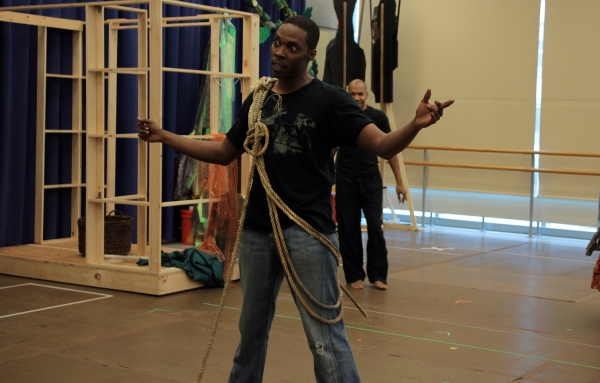 Photo Coverage: Thomas Kail, Stephen Flaherty et al. Preview Paper Mill's ONCE ON THIS ISLAND