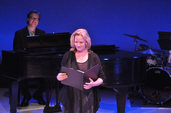 Jenny Giering at Matt Doyle, Betsy Wolfe, et al. in York Theatre Company's NEO 8