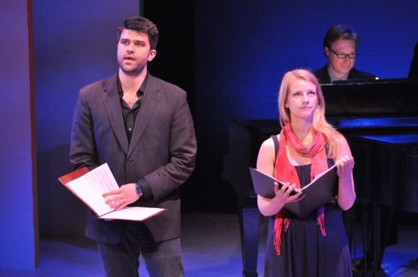 Ben Crawford and Whitney Bashor at Matt Doyle, Betsy Wolfe, et al. in York Theatre Company's NEO 8