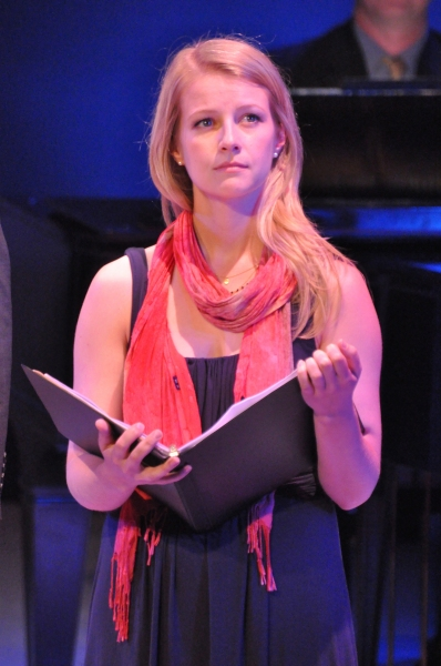 Whitney Bashor at Matt Doyle, Betsy Wolfe, et al. in York Theatre Company's NEO 8