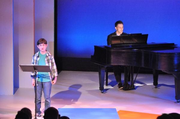 Jake Kitchin and Joe Kinosian at Matt Doyle, Betsy Wolfe, et al. in York Theatre Company's NEO 8