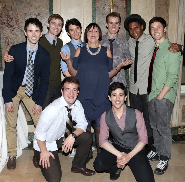 Barbara Warner Howard & the 'NEWSIES' Ensemble cast