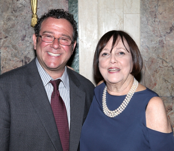 Michael Greif & Barbara Warner Howard at Inside New York Theatre Workshop's 2012 Gala!