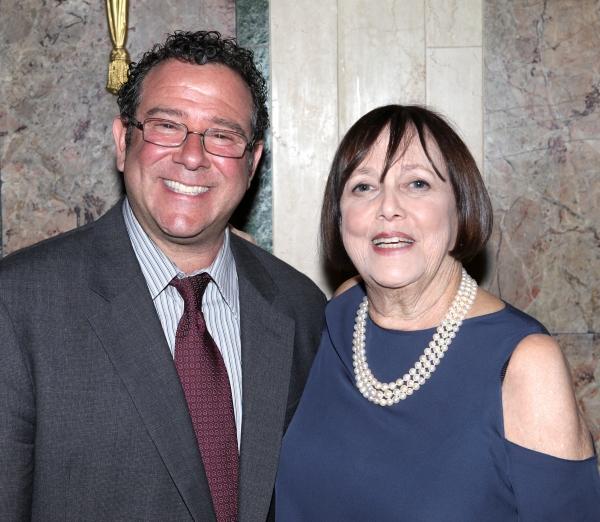 Michael Greif & Barbara Warner Howard at Inside New York Theatre Workshop's 2012 Gala!