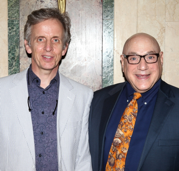 Robert Joy & Henry Krieger  at Inside New York Theatre Workshop's 2012 Gala!
