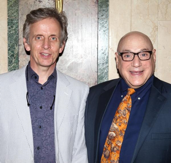 Robert Joy & Henry Krieger  at Inside New York Theatre Workshop's 2012 Gala!
