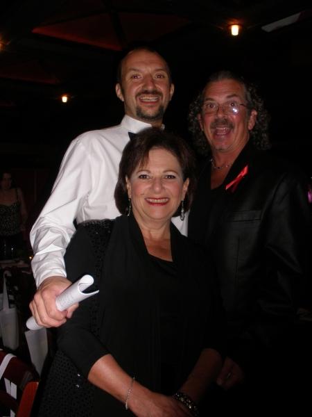 Susan Winter, Joseph Macchia and Jay Rogers