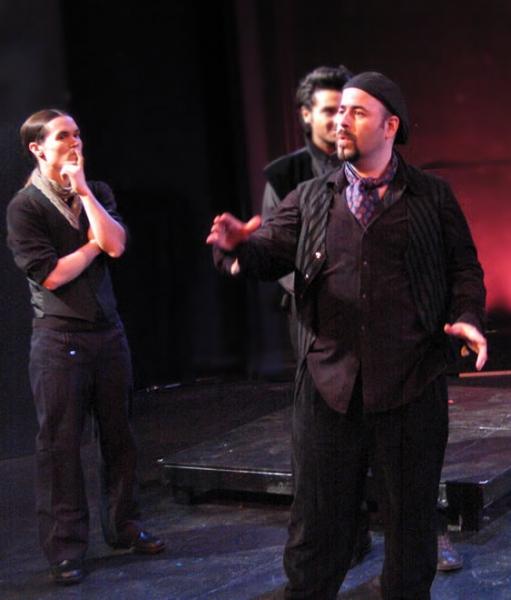 Marcus Watson, Simon Vargas, Eric Doss