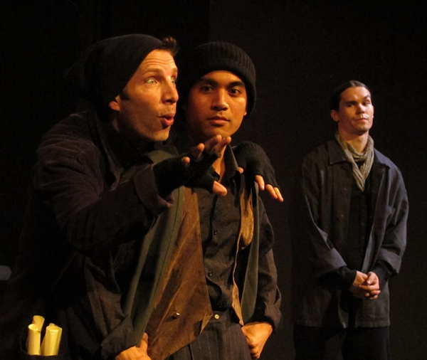 Jack Sochet, Brian Devera and Marcus Watson