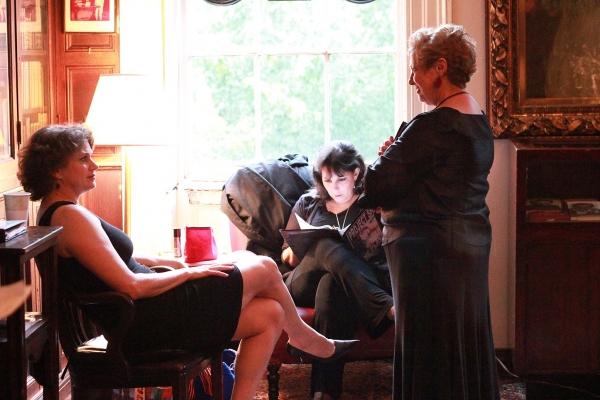 Cady Huffman, Christine Pedi and Ruth Leon