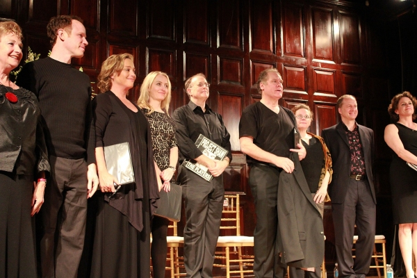 Ruth Leon, Sean Duggan, Allison Mackie, Amy Rutberg, Jay O Sanders, Maryann Plunkett, Daniel Jenkins and Cady Huffman at Inside Project Shaw's  IN GOOD KING CHARLES'S GOLDEN DAYS