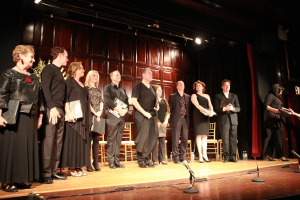 Ruth Leon, Sean Duggan, Allison Mackie, Amy Rutberg, Bill Kux, Jay O Sanders, Maryann Plunkett, Daniel Jenkins, Cady Huffman, Don Stephenson and Christine Pedi at Inside Project Shaw's  IN GOOD KING CHARLES'S GOLDEN DAYS