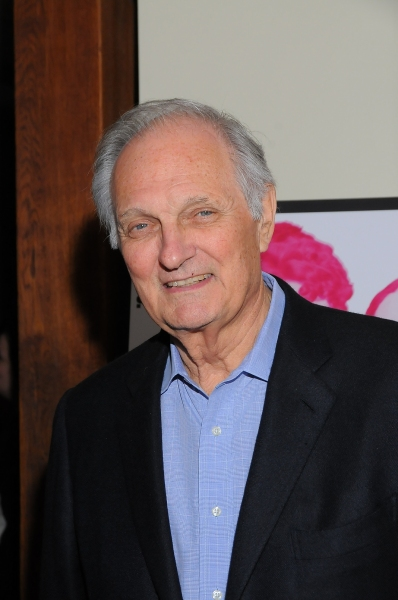 Alan Alda at Stanley Bahorek, A.J. Shively et al. at FEBRUARY HOUSE Opening Night!