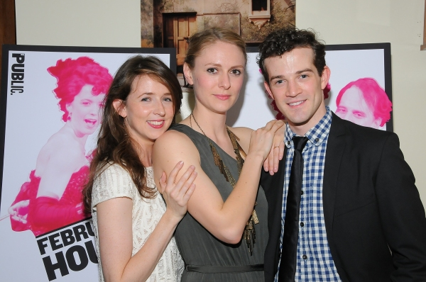 Photo Flash: Stanley Bahorek, A.J. Shively et al. at FEBRUARY HOUSE Opening Night!