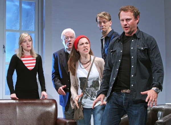 Photo Flash: Neil Stuke, Philip Voss et al. in Steven Berkoff's 6 ACTORS IN SEARCH OF A DIRECTOR!