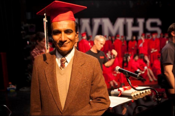 Iqbal Theba at Behind the Scenes of GLEE's Season 3 Finale!