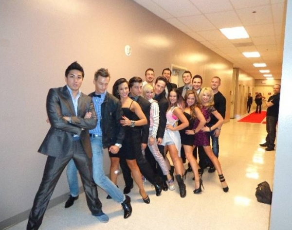 Photo Flash: DANCING WITH THE STARS: LIVE Visits JERSEY BOYS in Las Vegas